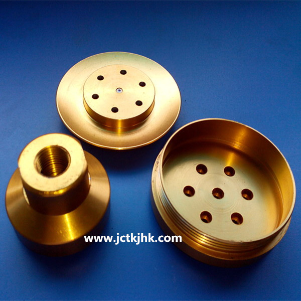 High quality milling aluminum parts with color anodizing