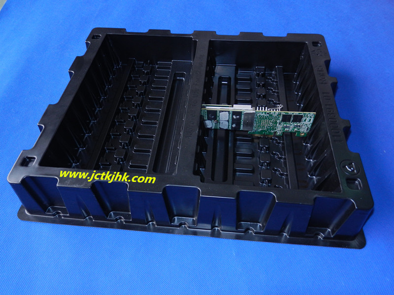PCB electronic turnover packaging tray